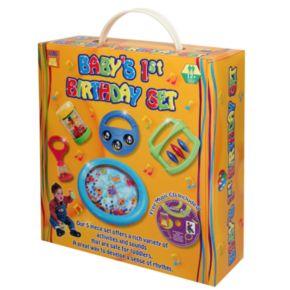 Edushape Baby's 1st Birthday Musical Instrument Toy Set