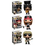 Funko POP! Rocks Music Guns N Roses Collectors Set: Slash, Axl Rose & Duff Mckagan