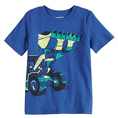 Boys 4-10 Jumping Beans® Front Loader Graphic Tee