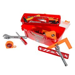 Hey! Play! 40-Piece Toy Tool Box Set