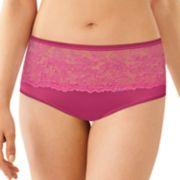 Women's Bali Comfort Indulgence Satin Hipster Panty 2783