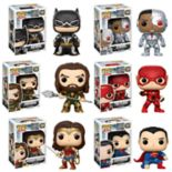 Funko POP! Movies DC Justice League Collectors Set: Batman, Aquaman, Cyborg, The Flash, Wonder Woman & Superman