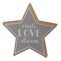 'Love' Star Table Decor