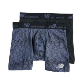 Men's New Balance 2-pack Dry Fresh 6-inch Boxer Briefs