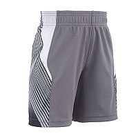 Toddler Boy Under Armour Space The Floor Striped Athletic Shorts