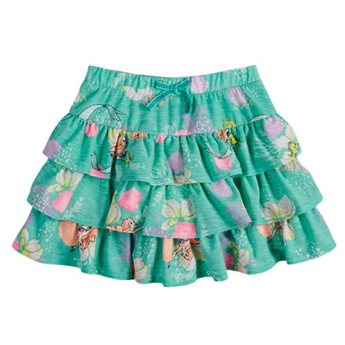 ca962a23143fc4 Disney s The Little Mermaid Ariel Toddler Girl Tiered Ruffle Scooter