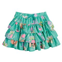 Disney's The Little Mermaid Ariel Girls 4-7 Tiered Ruffle Scooter