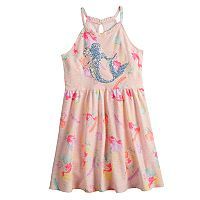 Disney's The Little Mermaid Ariel Girls 4-7 Halter Dress by Jumping Beans®