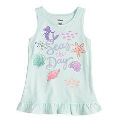 Disney's The Little Mermaid Girls 4-7 Ariel 'Seas The Day' Ruffle Tank by Jumping Beans
