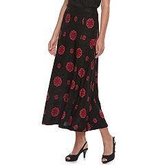 Women's Dana Buchman Print Midi Skirt