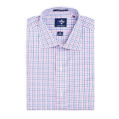 Men's MagnaClick Regular-Fit Spread-Collar Dress Shirt