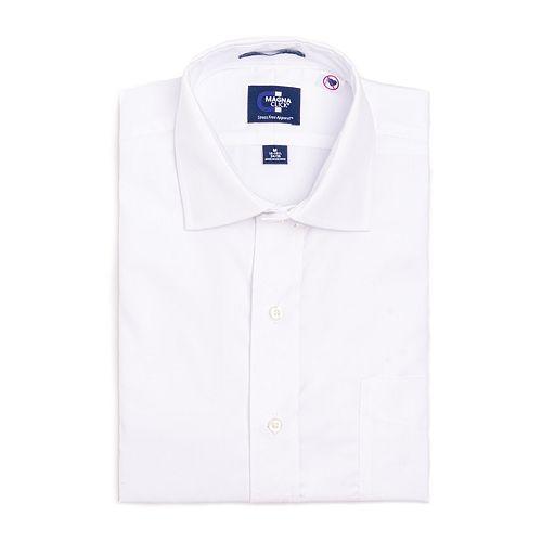Men's MagnaClick Regular-Fit Spread-Collar Dress Shirt