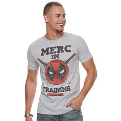 Men's Deadpool Merch In Training Tee