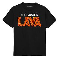 Boys 8-20 Lava Floor Tee