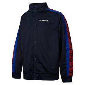 Boys 8-20 Converse Heritage Snap-Front Shirt
