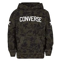 Boys 8-20 Converse Heritage Camouflage Pullover Hoodie