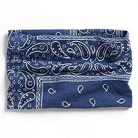Mudd® Bandana Print Jersey Head Wrap
