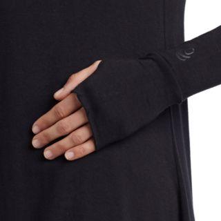 Plus Size Cuddl Duds Softwear Cowlneck Tunic Top