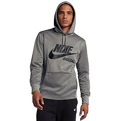 6fede469cbc9 Men s Nike Baseball Hoodie. Dark Gray Black