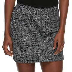 Women's Apt. 9® Exposed Zipper Skirt