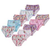 Girls 4-8 Fingerlings 10-pack Brief Panties