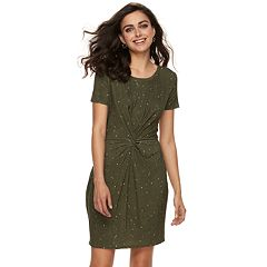 Women's Apt. 9® Knot Front Sheath Dress