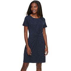 Women's Apt. 9® Knot Front Sheath Dress