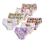 Disney / Pixar Girls 4-8 The Incredibles 7-pack Brief Panties