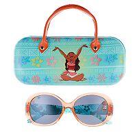Disney's Moana Girls 4-16 Sunglasses & Hardcase Set