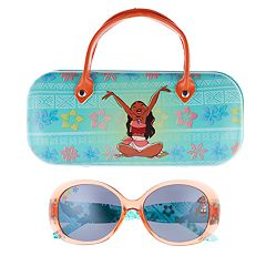 Disney's Moana Girls 4-16 Sunglasses & Hardcase Set