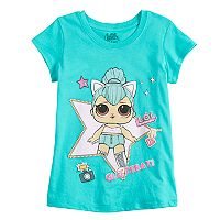Girls 4-6x LOL Surprise! Kitty Queen Tee
