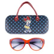Disney's Minnie Mouse Girls 4-16 Sunglasses &  Hardcase Set