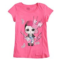 Girls 4-6x LOL Surprise! Rocker Tee