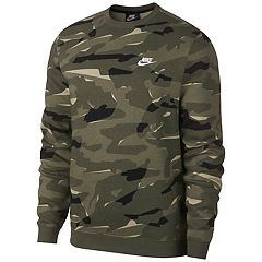 Men's Nike Club Camo Fleece