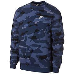 Men's Nike Club Camo Fleece