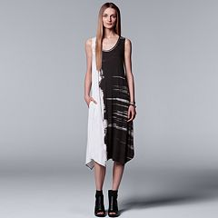 Women's Simply Vera Vera Wang Abstract Print Tank Dress