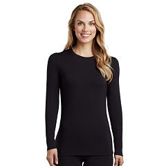 Women's Cuddl Duds Softwear Tall Crewneck Top