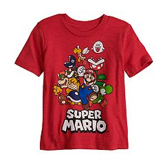 Toddler Boy Jumping Beans® Super Mario Bros. Characters Graphic Tee