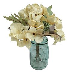 SONOMA Goods for Life™ Artificial Hydrangea Mason Jar Table Decor