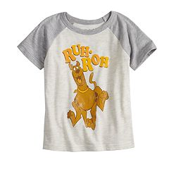 Toddler Boy Jumping Beans® Scooby-Doo 'Ruh-Roh' Raglan Graphic Tee
