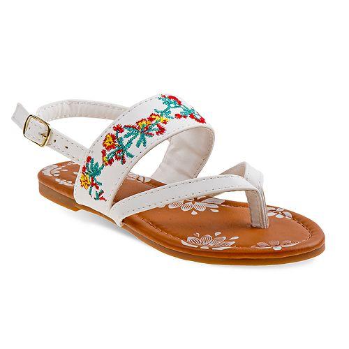 Josmo Floral Girls' Sandals