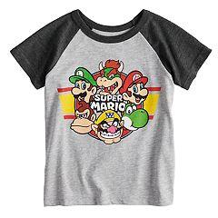 Toddler Boy Jumping Beans® Super Mario Bros. Raglan Graphic Tee