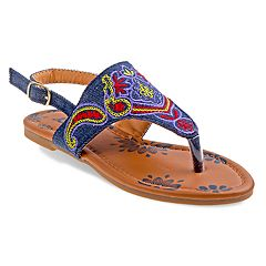 Josmo Paisley Girls' Sandals