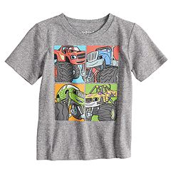 Toddler Boy Jumping Beans® Blaze & The Monster Machines Grid Graphic Tee