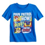 "Toddler Boy Jumping Beans® Paw Patrol ""Wow! Ruff! Yeah!"" Comic Panels Graphic Tee"