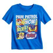 """Toddler Boy Jumping Beans® Paw Patrol """"Wow! Ruff! Yeah!"""" Comic Panels Graphic Tee"""
