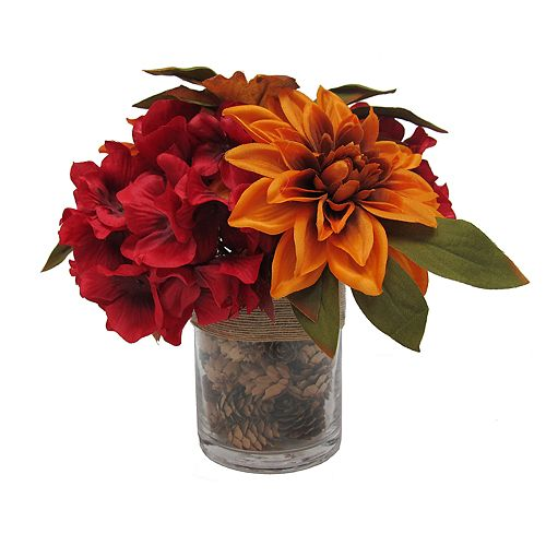 sonoma goods for life artificial autumn flowers table decor