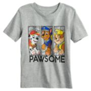 "Toddler Boy Jumping Beans® Paw Patrol ""Pawsome"" Marshall, Chase & Rubble Graphic Tee"