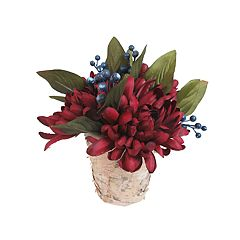 SONOMA Goods for Life™ Artificial Mum & Magnolia Table Decor