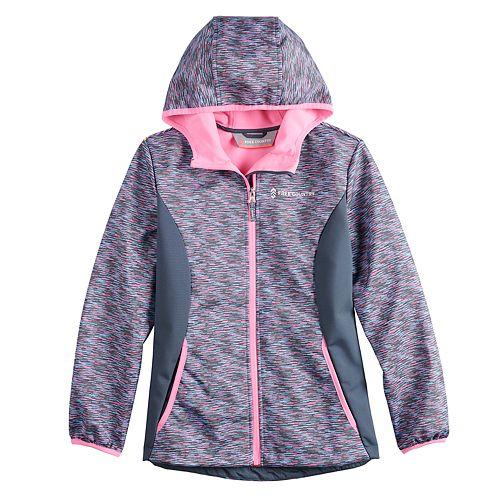 Girls 4-16 Free Country Softshell Fleece-Lined Lightweight Jacket